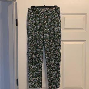 J.Crew Silk pants
